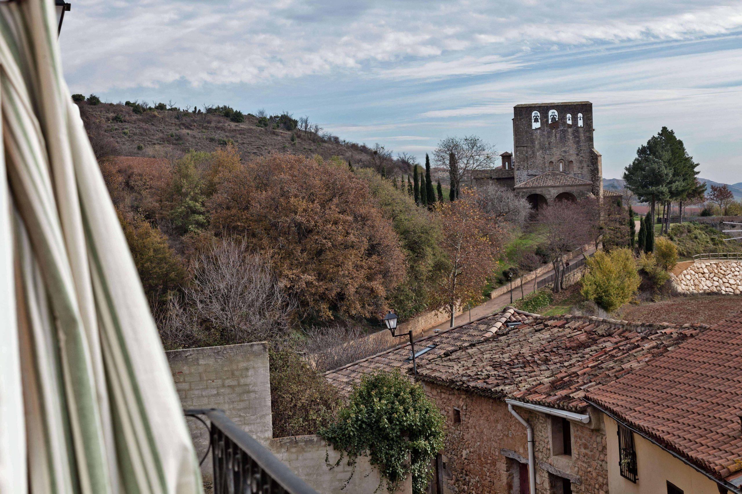 Casa rural La Rinconada en Azuelo Navarra Vistas ventana
