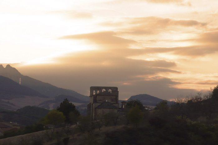 Atardecer Azuelo Navarra