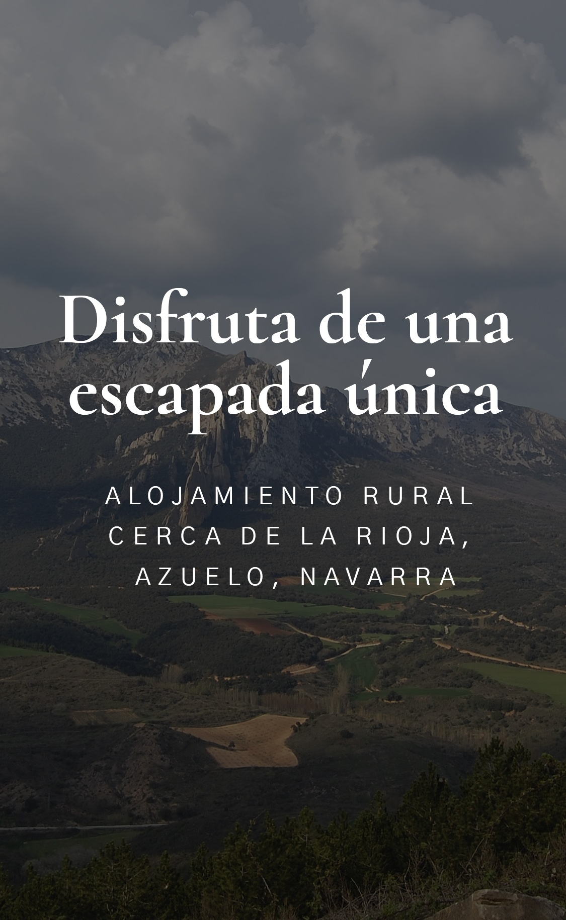 Casa rural La Rinconada en Azuelo Navarra Slider móvil